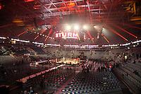 SAP Arena Mannheim vor dem Kampf