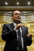 Nicola Zingaretti,Presidente della provincia di Roma..Upter.Inaugurazione XXIV anno accademico dell'università popolare di Roma.