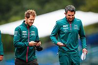 26th August 2021; Spa Francorchamps, Stavelot, Belgium: FIA F1 Grand Prix of Belgium, driver arrival day:  VETTEL Sebastian ger, Aston Martin F1 AMR21