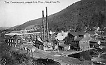 Emporium Lumber Co. Mill, Galeton, PA by Harry T. Rice.