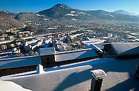 Blick von Festung in Salzburg, Österreich