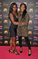 """Chanelle Haynes and Angellica Bell at the """"Tina: The Tina Turner Musical"""" Refuge gala performance, Aldwych Theatre, Aldwych, on Sunday 10th October 2021, in London, England, UK. <br /> CAP/CAN<br /> ©CAN/Capital Pictures"""
