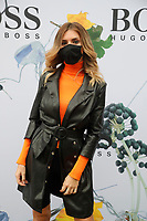 SEP 2020 Hugo BOSS street fashion arrivals at show in Milan
