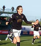 Blair Alston celebrates