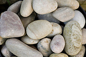 Orford, Suffolk. Pale coloured pebbles on a shingle beach.