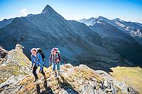 The Via Alta Verzasca is a five day ridge traverse hike above the Valle Verzasca in the Ticino region of Switzerland.