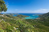 View of Coral Bay and Hurricane Hole.ST. John.U.S. Virgin Islands