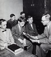 Boys in Bible Class. 1950's.