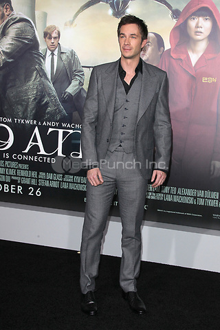 HOLLYWOOD, CA - OCTOBER 24: James D'Arcy at the Los Angeles premiere of 'Cloud Atlas' at Grauman's Chinese Theatre on October 24, 2012 in Hollywood, California. Credit: mpi21/MediaPunch Inc.