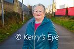 Joan Carey enjoying a walk on the Tralee Greenway on Sunday