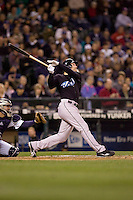 May 19, 2010: Toronto Blue Jays' Adam Lind (26) at-bat during a game against the Seattle Mariners at Safeco Field in Seattle, Washington.