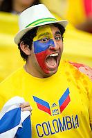 A Columbia fan