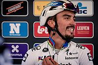 race winner Julian Alaphilippe (FRA/Deceuninck-QuickStep)<br /> <br /> 60th De Brabantse Pijl 2020 - La Flèche Brabançonne (1.Pro)<br /> 1 day race from Leuven to Overijse (BEL/197km)<br /> <br /> ©kramon