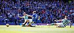 12.05.2019 Rangers v Celtic: Scott Arfield scores for Rangers