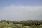 Israel, Shephelah, a view from Hurvat Midras