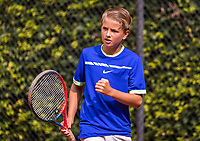 Hilversum, Netherlands, August 9, 2017, National Junior Championships, NJK, Nick van den Heuvel<br /> Photo: Tennisimages/Henk Koster