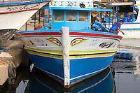Tripoli, Libya - Fishing Boat, Tripoli Harbor, Harbour