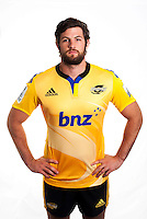 Christian Lloyd. Hurricanes Super Rugby official headshots at Rugby League Park, Wellington, New Zealand on Tuesday, 13 January 2015. Photo: Dave Lintott / lintottphoto.co.nz