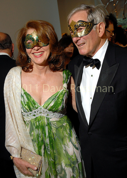 Lois Chiles and Richard Gilder at the 20th Anniversary Gala at the Menil Friday April 20,2007.(Dave Rossman/For the Chronicle)