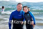 Enjoying the water in Fenit on Sunday, l to r: Kieran and Sean Kelliher from Kilcummin.