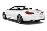 Car pictures of rear three quarter view of 2017 BMW M6 - 2 Door Convertible Angular Rear