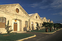 Bermuda, The West End, Sandy's Parish, Royal Naval Dockyard at the end of Ireland Island in Sandy's Parish in Bermuda.