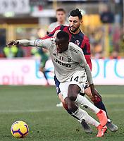 Blaise Matuidi of Juventus , Roberto Soriano of Bologna <br /> Bologna 24-02-2019 Stadio Dall'Ara <br /> Football Serie A 2018/2019 Bologna - Juventus<br /> Foto Image Sport / Insidefoto