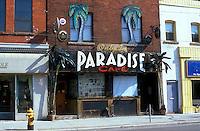 Canada, Ontario, Toronto, Queen Street East, Paradise Cafe