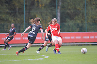 midfielder Aster Janssens (5 Standard) pictured during a female soccer game between Standard Femina de Liege and Dames SV Zulte Waregem on the fifth matchday of the 2020 - 2021 season of Belgian Scooore Womens Super League , saturday 17 th of October 2020  in Angleur , Belgium . PHOTO SPORTPIX.BE | SPP | STIJN AUDOOREN