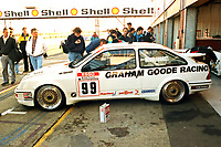 Final round of the 1991 British Touring Car Championship. #99 Andy Middlehurst (GBR). Graham Goode Racing. Ford Sierra.