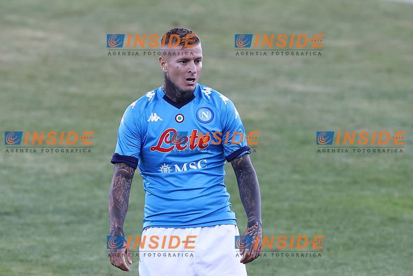 Amato Ciceretti of SSC Napoli looks on<br /> during the friendly football match between SSC Napoli and SS Teramo Calcio 1913 at stadio Patini in Castel di Sangro, Italy, September 04, 2020. <br /> Photo Cesare Purini / Insidefoto