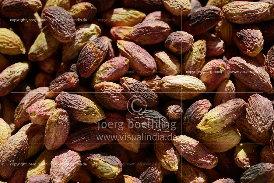 TURKEY, Nizip, factory for processing of pistachio after harvest, pistachio peeled without shell / TUERKEI, Nizip, Fabrik fuer Verarbeitung von Pistazien
