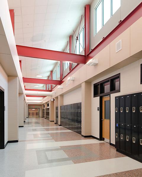 The new Patriot High School in Prince William County, VA
