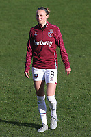 Martha Thomas of West Ham during West Ham United Women vs Brighton & Hove Albion Women, Barclays FA Women's Super League Football at the Chigwell Construction Stadium on 15th November 2020