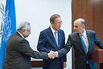 Hand-over Ceremony of Saudi Donation for UN Counter-Terrorism Centre