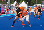 Wales Phoebe Richards in action during todays event<br /> <br /> *This image must be credited to Ian Cook Sportingwales and can only be used in conjunction with this event only*<br /> <br /> 21st Commonwealth Games - Wales v Malaysia - Hockey-  Day 7 - 11\04\2018 - Gold Coast Hockey Centre - Gold Coast City - Australia