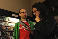 Videoteca cinema d'autore e rarità e libreria cinematografica.Video store of auteur cinema and rarity, film library...