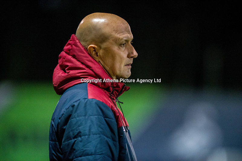 Friday 27 October 2017<br /> Pictured: Swansea u23's Manager Cameron Toshack <br /> Re: Swansea City U23 v Everton U23 Premier League 2 match at the Landore Training facility, Swansea, Wales, UK