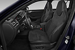 Front seat view of 2020 Skoda Superb-Combi Sportline-4wd 5 Door Wagon Front Seat  car photos