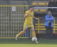 Waasland Beveren Sinaai Girls - Famkes Merkem : .Kwartfinale beker van België 2011-2012 : Meagan McLoughlin..foto DAVID CATRY / JOKE VUYLSTEKE / Vrouwenteam.be