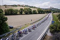 stretched peloton <br /> <br /> Stage 8: Tortoreto Lido to Pesaro (239km)<br /> 102nd Giro d'Italia 2019<br /> <br /> ©kramon
