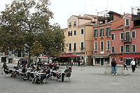 Una veduta di Campo Santa Margherita, Venezia.<br /> View of Campo Santa Margherita in Venice.<br /> UPDATE IMAGES PRESS/Riccardo De Luca