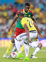 Cameroon's Arnaud Djoum during international friendly match. June 13,2017.(ALTERPHOTOS/Acero) (NortePhoto.com) (NortePhoto.com)