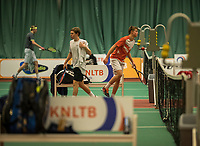 The Hague, The Netherlands, March 17, 2017,  De Rhijenhof, NOJK 14/18 years, <br /> Photo: Tennisimages/Henk Koster