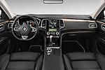 Stock photo of straight dashboard view of 2016 Renault Talisman Initiale-Paris 5 Door Wagon Dashboard