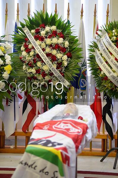 PORTO ALEGRE, RS, 25/01/2020 - IBSEN - VELÓRIO - O velório do ex-deputado (MDB/RS), Ibsen Pinheiro acontece no salão nobre, da Assembleia Legislativa do Rio Grande do Sul, em Porto Alegre, neste sábado (25).