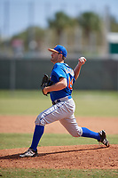 New York Mets Pitcher Austin McGeorge (68) during a minor league Spring Training game against the Miami Marlins on March 26, 2017 at the Roger Dean Stadium Complex in Jupiter, Florida.  (Mike Janes/Four Seam Images)