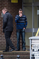 COPY BY TOM BEDFORD<br /> Pictured: Andrew Jakes (R)<br /> Re: Ten men on trial at Merthyr Crown Court are facing jail for turning a travellers camp built with a £3m grant from the Welsh Government into a giant cannabis plantation.<br /> Half of the 24 caravans at their newly-renovated gypsy camp in Merthyr Tydfil were used as cover for a sophisticated drugs-growing operation worth up to £340,000 a year, a court heard.<br /> Their Glynmill Gypsy and Traveller Site had been given a £3m grant of public money for improvements including community hall, toilet blocks and landscaping.<br /> Andrew Jakes, 36, Adam Jones, 23, Barry Jones, 34, Brinnie Mochan, 18, Peter Gilheaney, 18, Steven Francis Gilheaney, 33, Martin Gilheaney, 27, and Peter Patrick Gilheaney, 27, all of Glynmill Caravan Site, admitted conspiracy to produce cannabis and cannabis production.<br /> Another two – Edward Probert, 27, of Pontypool, and William Henry Williams, 20, of Merthyr Tydfil – also pleaded guilty to the same charges.