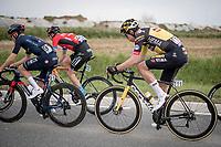 Wout van Aert (BEL/Jumbo-Visma)<br /> <br /> 61st Brabantse Pijl 2021 (1.Pro)<br /> 1 day race from Leuven to Overijse (BEL/202km)<br /> <br /> ©kramon