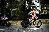 defending champion  Annemiek van Vleuten (NED/Mitchelton-Scott) on her way to bronze<br /> Elite Women Individual Time Trial<br /> <br /> 2019 Road World Championships Yorkshire (GBR)<br /> <br /> ©kramon